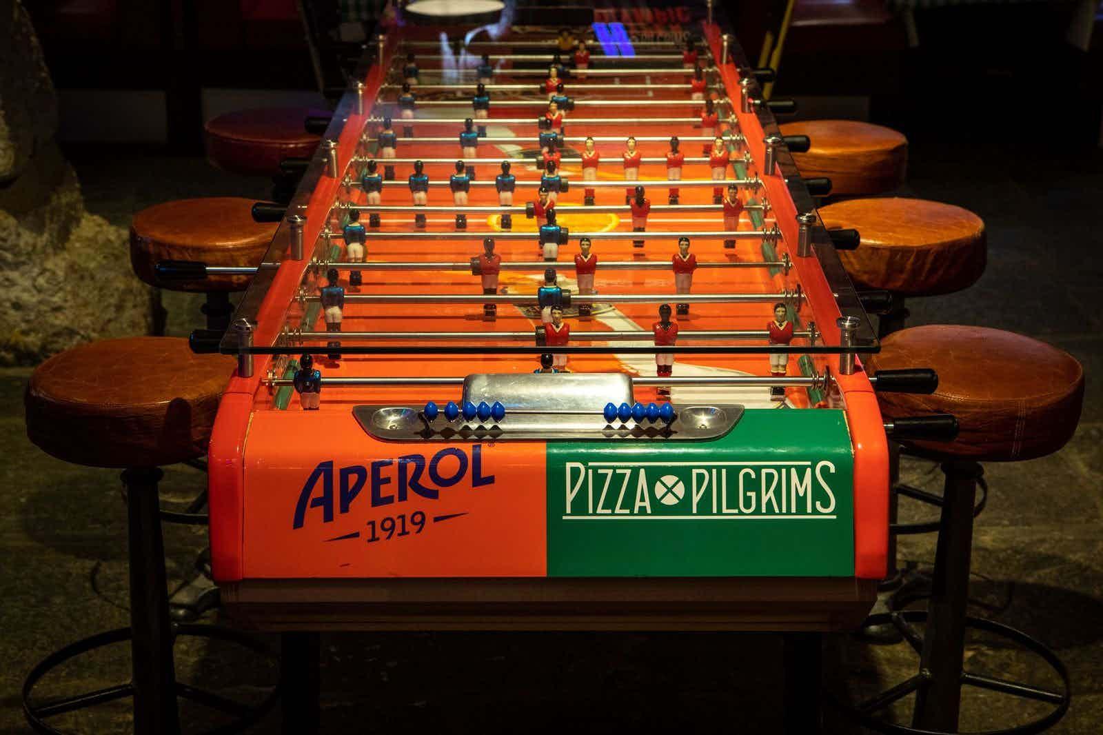Pizza Playground, Pizza Pilgrims West India Quay