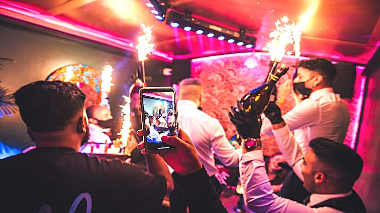 Venue Hire **THE CLUB**  Jako is an intimate, luxurious club offering Premium Bottle and Food Shows, where local and international DJs are seen performing and partying to create a late-night venue with quality e