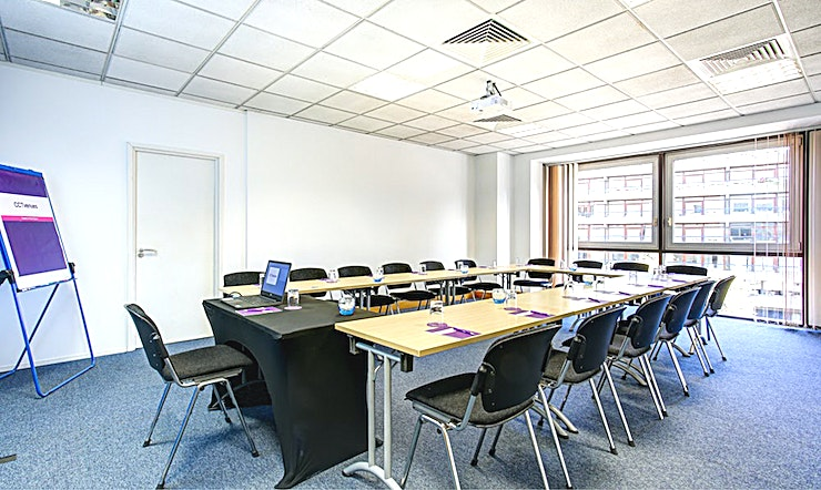 Uranus Recently refurbished, CCT Venues-Barbican offers a professional environment in a superbly convenient City location. The venue occupies the whole of Aldersgate House, on the corner of Aldersgate Street and Long Lane, in London EC1. The 22 training and meeting rooms are arranged over five floors and offer a range of bright, airy Spaces, with large windows and individually controlled air conditioning.  CCT Venues-Barbican has a great mix of room sizes, with capacity for groups of 4 to 150. The venue has a strong reputation for superb service and expert management of training events. In addition to great rooms, the venue also has a modern top floor Sun Restaurant, with capacity for over 140 and offering a range of freshly prepared food from our in-house chefs. All other floors have refreshment areas with tea and coffee facilities.  All rooms are well equipped with modern furniture, quality audiovisual equipment and powerful data links. Events are supported by our first class, highly experienced team who put warm, professional service central to everything.   You'll find the venue directly next to Barbican underground station and only a few minutes' walk from CCT Venues-Smithfield. City Thameslink mainline, Farringdon, St Paul's and Moorgate tube stations are also just a short walk away.   CCT Venues also have locations in Canary Wharf, offering great choice across London's busiest business districts.