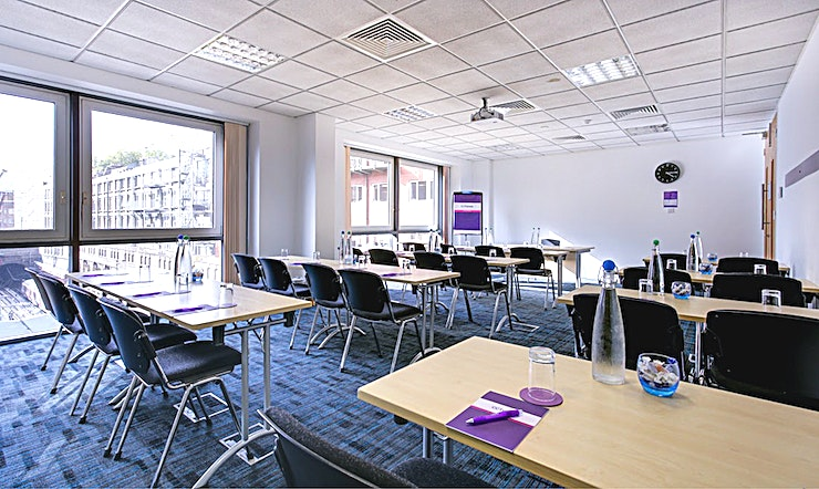 Polaris 2 Recently refurbished, CCT Venues-Barbican offers a professional environment in a superbly convenient City location. The venue occupies the whole of Aldersgate House, on the corner of Aldersgate Street and Long Lane, in London EC1. The 22 training and meeting rooms are arranged over five floors and offer a range of bright, airy Spaces, with large windows and individually controlled air conditioning.  CCT Venues-Barbican has a great mix of room sizes, with capacity for groups of 4 to 150. The venue has a strong reputation for superb service and expert management of training events. In addition to great rooms, the venue also has a modern top floor Sun Restaurant, with capacity for over 140 and offering a range of freshly prepared food from our in-house chefs. All other floors have refreshment areas with tea and coffee facilities.  All rooms are well equipped with modern furniture, quality audiovisual equipment and powerful data links. Events are supported by our first class, highly experienced team who put warm, professional service central to everything.   You'll find the venue directly next to Barbican underground station and only a few minutes' walk from CCT Venues-Smithfield. City Thameslink mainline, Farringdon, St Paul's and Moorgate tube stations are also just a short walk away.   CCT Venues also have locations in Canary Wharf, offering great choice across London's busiest business districts.