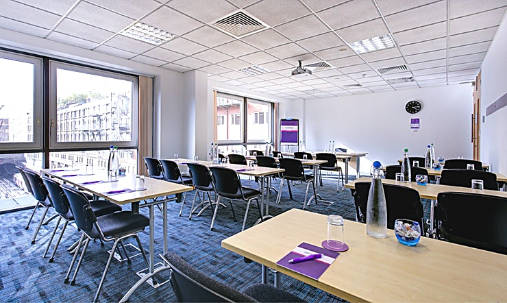 Polaris 1 Recently refurbished, CCT Venues-Barbican offers a professional environment in a superbly convenient City location. The venue occupies the whole of Aldersgate House, on the corner of Aldersgate Street and Long Lane, in London EC1. The 22 training and meeting rooms are arranged over five floors and offer a range of bright, airy Spaces, with large windows and individually controlled air conditioning.  CCT Venues-Barbican has a great mix of room sizes, with capacity for groups of 4 to 150. The venue has a strong reputation for superb service and expert management of training events. In addition to great rooms, the venue also has a modern top floor Sun Restaurant, with capacity for over 140 and offering a range of freshly prepared food from our in-house chefs. All other floors have refreshment areas with tea and coffee facilities.  All rooms are well equipped with modern furniture, quality audiovisual equipment and powerful data links. Events are supported by our first class, highly experienced team who put warm, professional service central to everything.   You'll find the venue directly next to Barbican underground station and only a few minutes' walk from CCT Venues-Smithfield. City Thameslink mainline, Farringdon, St Paul's and Moorgate tube stations are also just a short walk away.   CCT Venues also have locations in Canary Wharf, offering great choice across London's busiest business districts.