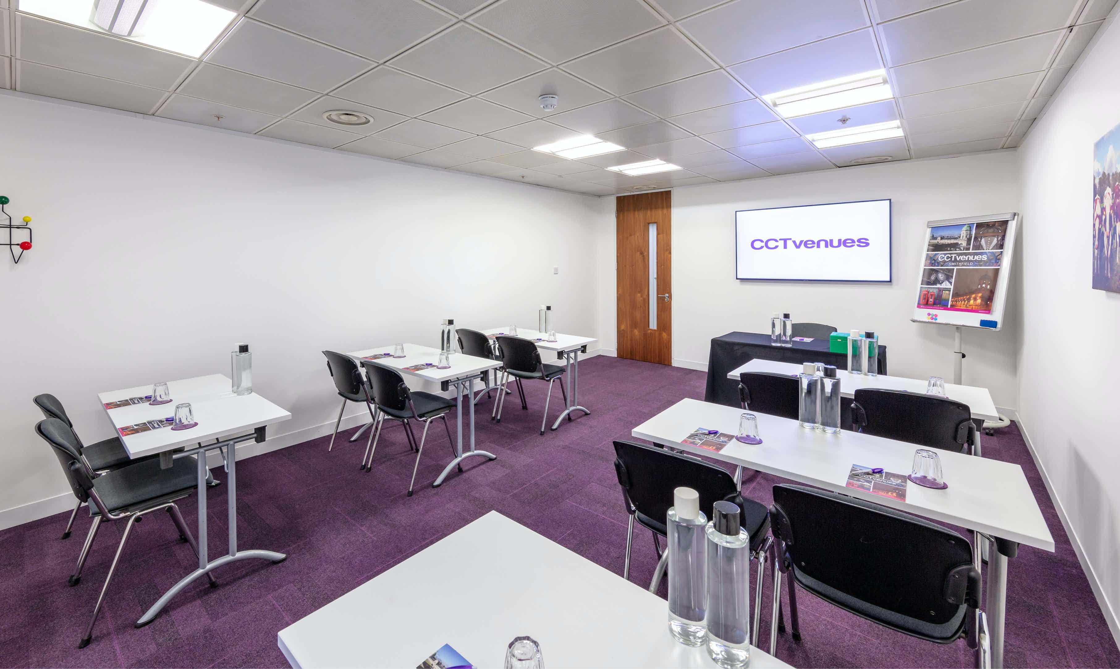 Meeting Room 4, CCT Venues, Smithfield