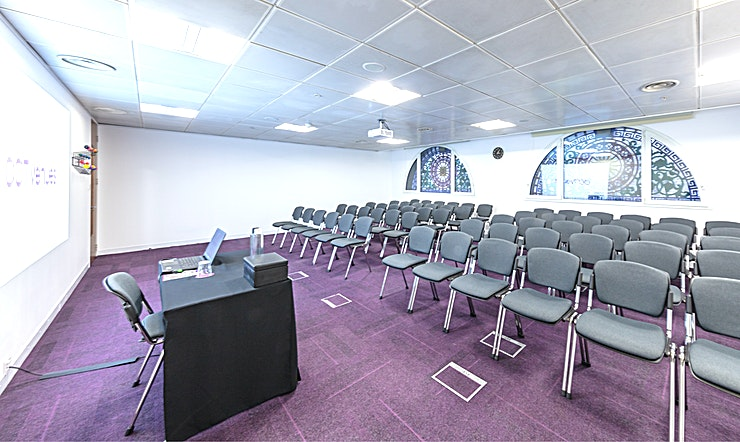 Covent Garden Situated above the historic, Grade II listed Smithfield Market, less than 5 minutes' walk from Farringdon and Barbican stations. 