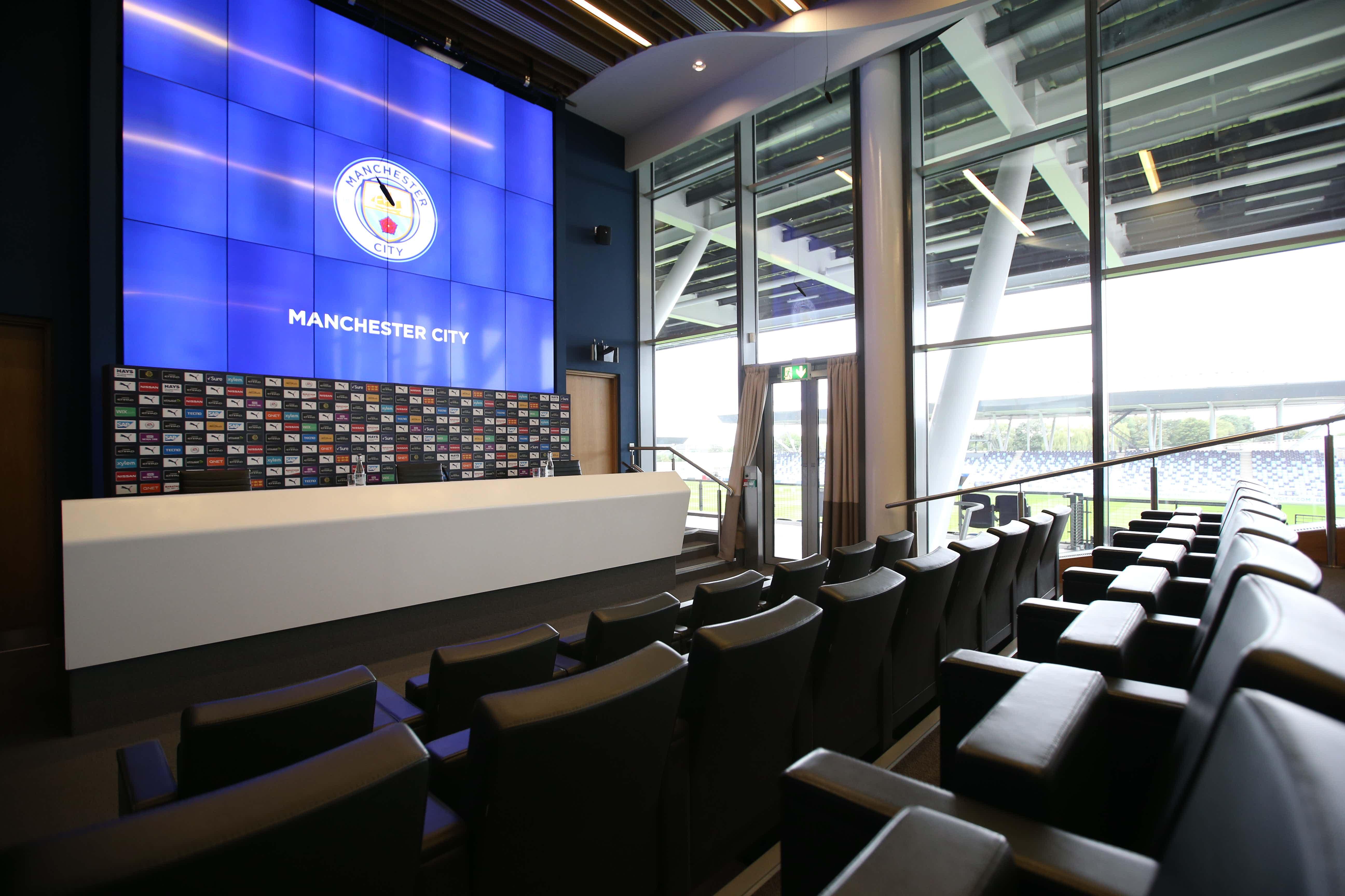 Media Centre, City Football Academy