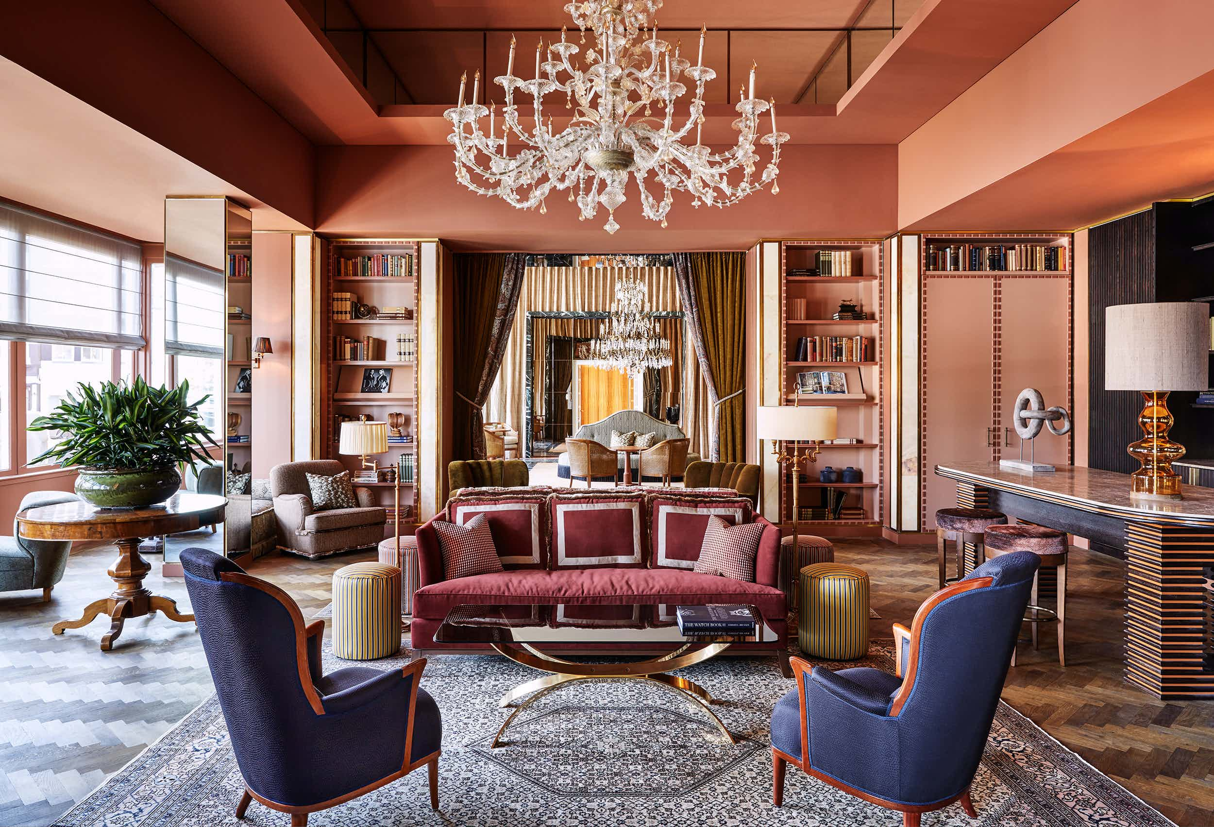 Library Room, Hotel De L'Europe