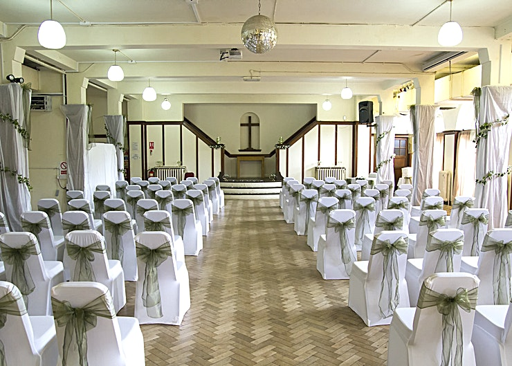 Terrace Room  **Rowheath Pavilion is a beautiful function and wedding venue based in the gorgeous model village of Bournville.**   With a large function room which can hold up between 100-160 people* it is a great