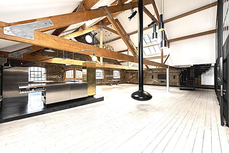 Studio 602 Situated in an iconic Victorian warehouse, on the north bank of the River Thames, Studio 602 is a loft-style venue brimming with period features.  Each room has been carefully restored to preserve its original look and feel while adding an abundance of luxurious fixtures and fittings.  Comprising of a large reception Space, multiple breakouts, and a roof terrace this venue is a great location for product launches, supper clubs, photoshoots, and more.