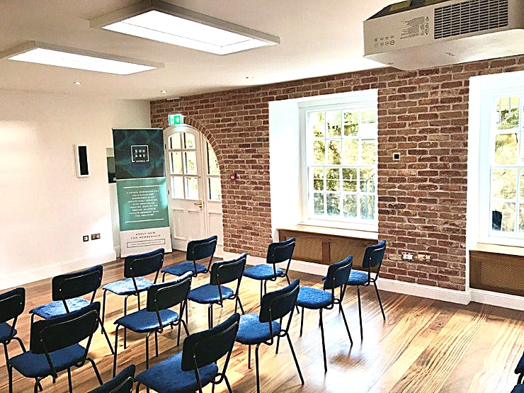 Large meeting room We've thought of everything you might need to run a successful event, with our high-spec, multi-functional space. We can accommodate boardroom, film screening, conference and presentation arrangements, among others.