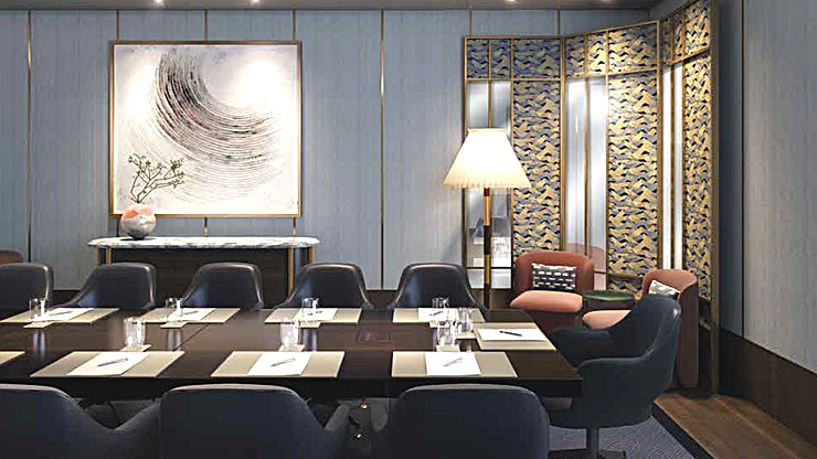 Sakura Boardroom & Sakura Boardroom Lounge **Private venues for business meeting hires.**   Equipped with flat screens, a range of audio-visual features, room set-ups customised for various-sized gatherings, as well as support from multi-lingual, tech-savvy teams, makes for a smooth running business meeting.   Located in the vibrant neighbourhood of Marylebone, West London. With Nobu's distinctively crafted menus for meal breaks, your event is guaranteed to be a memorable success.