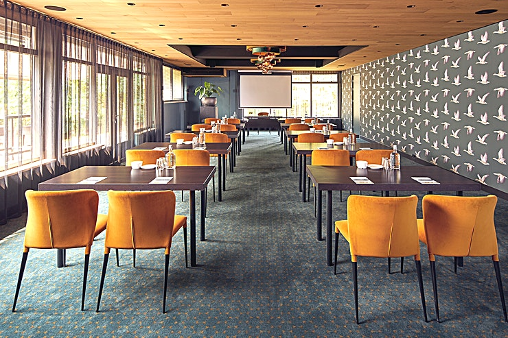 Aartszaal *Hotel Gilze - Tilburg has a variety of meeting rooms centrally located*  Looking for a suitable venue for meetings, training purposes, product presentations, festive events like wedding celebrations?
