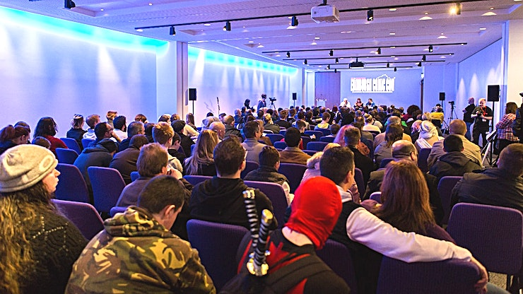 Lammermuir & Moffat Rooms **The Lammermuir Suite can be used in its entirety for up to 220 delegates, or it can sub-divide to give two break-out rooms. The adjacent Moffat Room provides an additional break-out space for 45 delegates.**  Situated at the heart of Scotland's beautiful capital city, the EICC is one of the world's outstanding venues for conferences and events.  Our purpose-built centre offers the very best facilities and technology; and our experienced team will help to ensure your event's success.