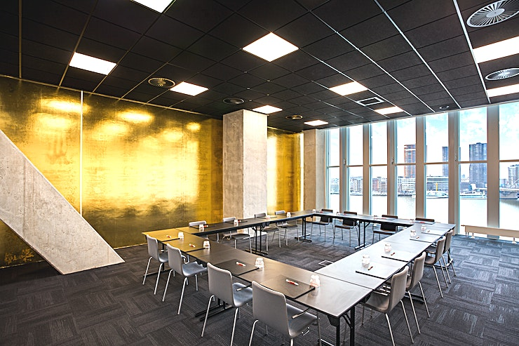 Meeting Room 2 This meeting room is one of the meeting spaces which nhow Rotterdam offers. Meeting Room 2 is very suitable for your small meeting, brainstorm session, presentation, a training, but also for lots of o