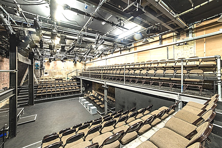 Studio 1 **Studio 1 is our main auditorium and is ideal for photo and film location shoots, performances, rehearsals and readings as well as corporate events like conferences, away days and seminars.**  Studio