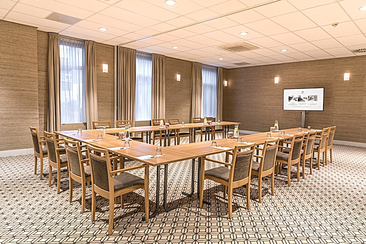 Museum Quarter Thanks to its central location, among others, Sandton Eindhoven Centre is the ideal venue for your course, presentation, or meeting.   The hotel has 7 ultra-modern air-conditioned conference rooms tha