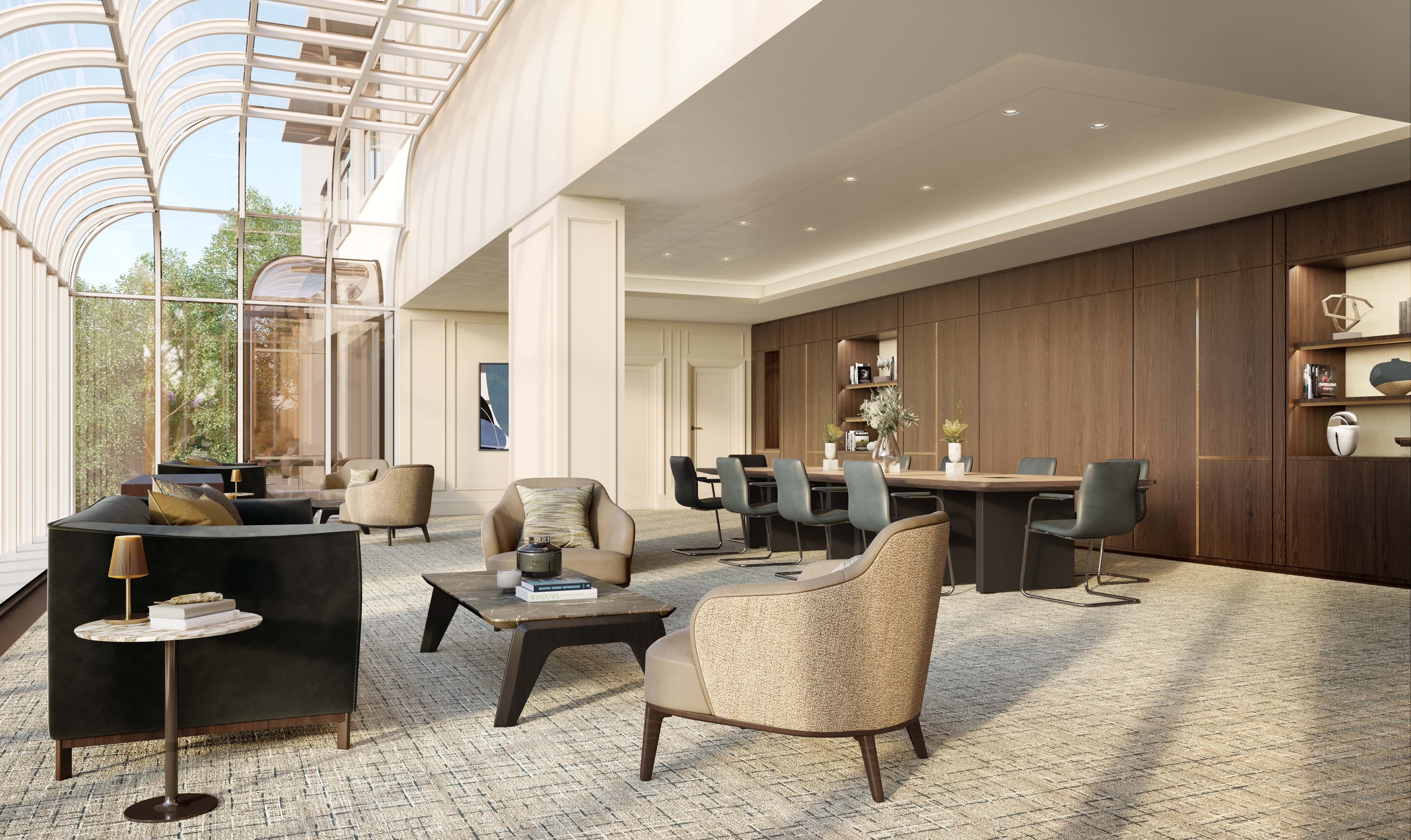 The Conservatory , The Carlton Tower Jumeirah - Opening Early 2021