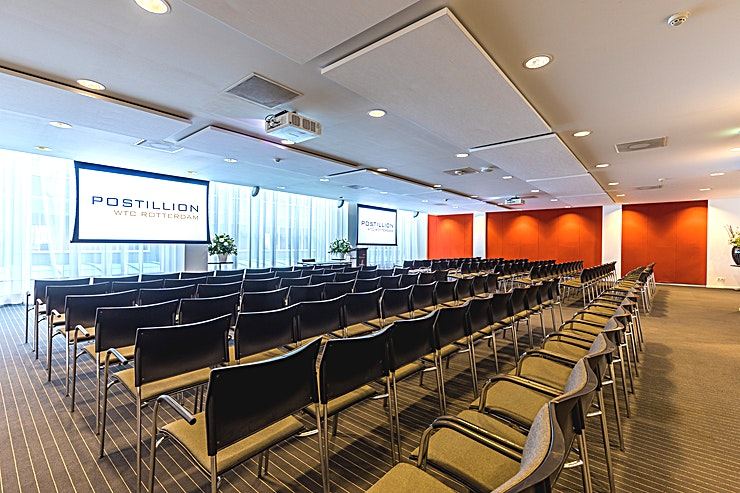 Van Oldenbarnevelt Room This meeting room located at the first floor. The meeting room is equipped with plug & play.