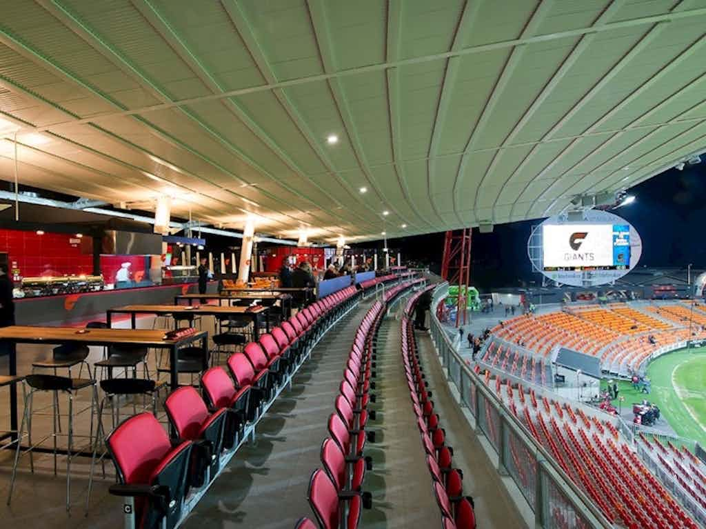 Stadium Rooms, GIANTS Stadium, Sydney Showground