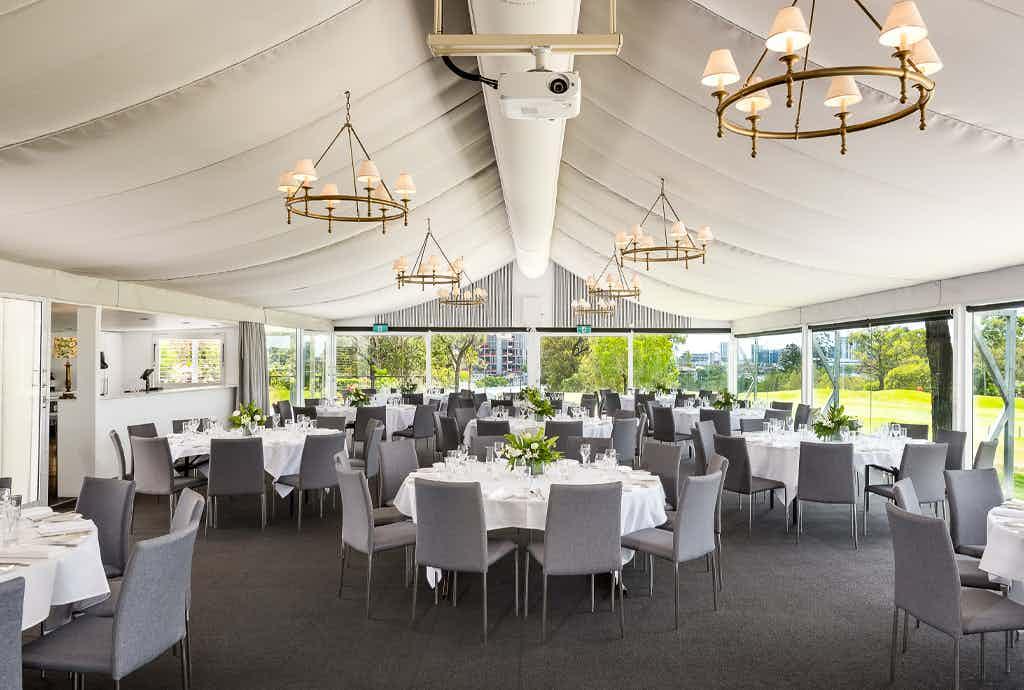 Garden Marquee, Victoria Park Golf Complex