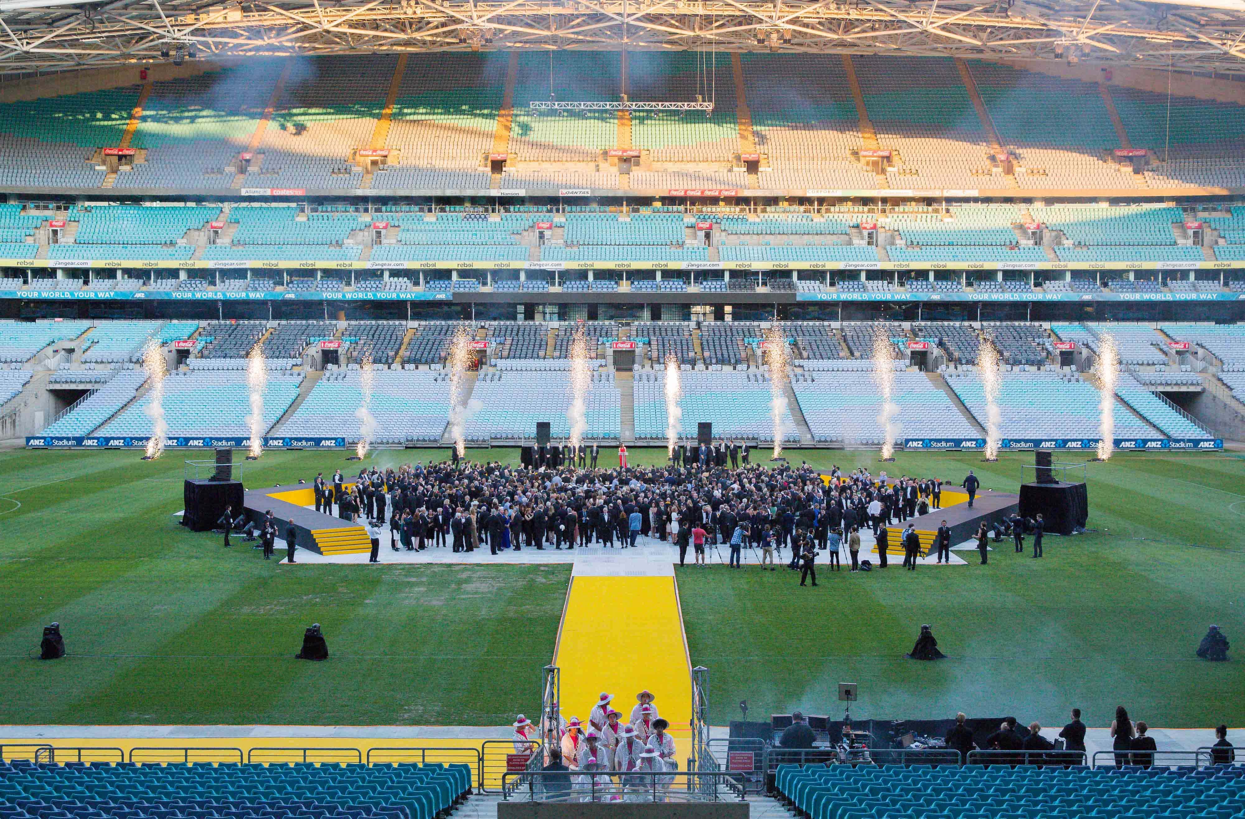 The Arena, Stadium Australia
