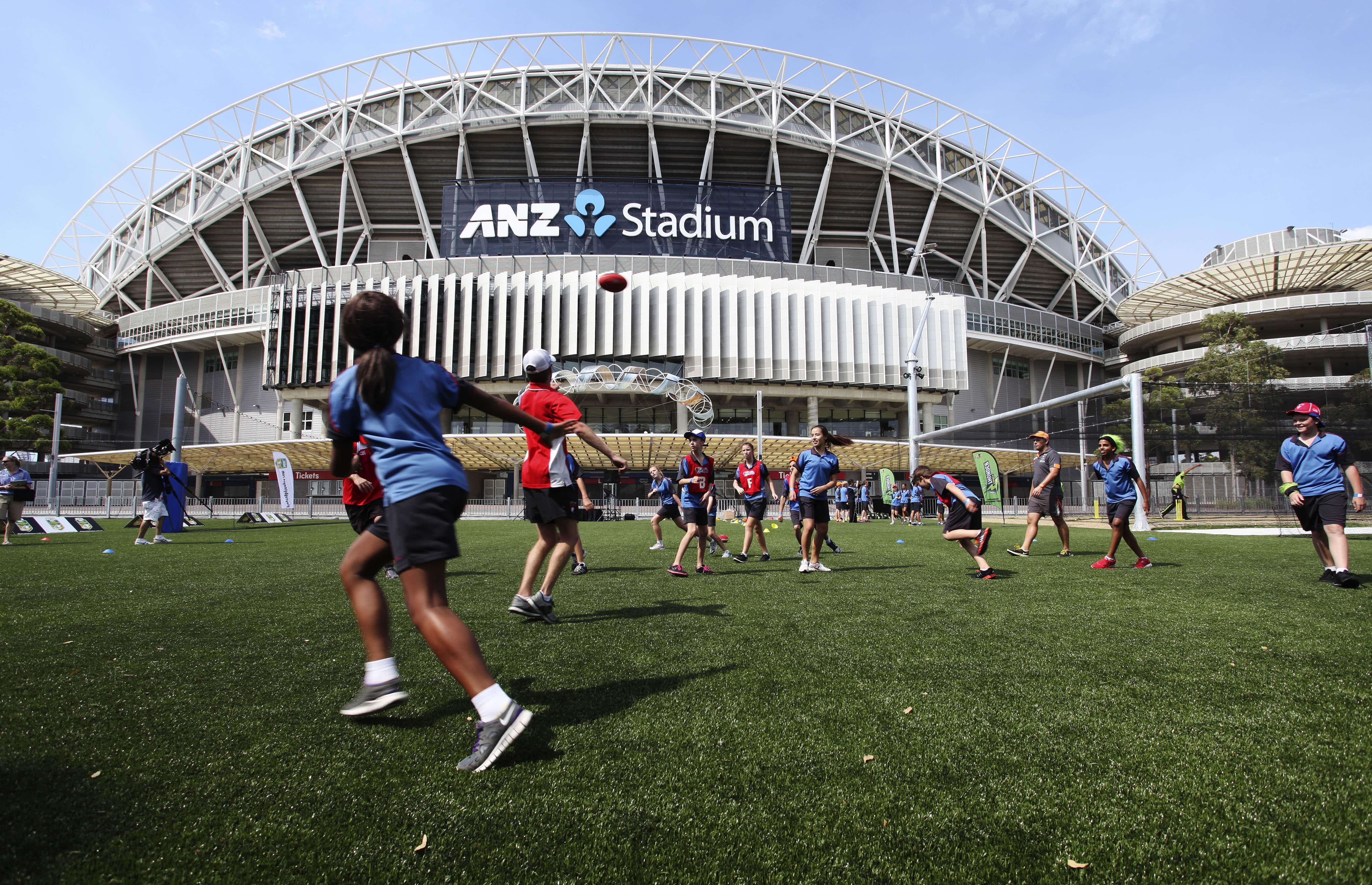 Training Facility, Stadium Australia