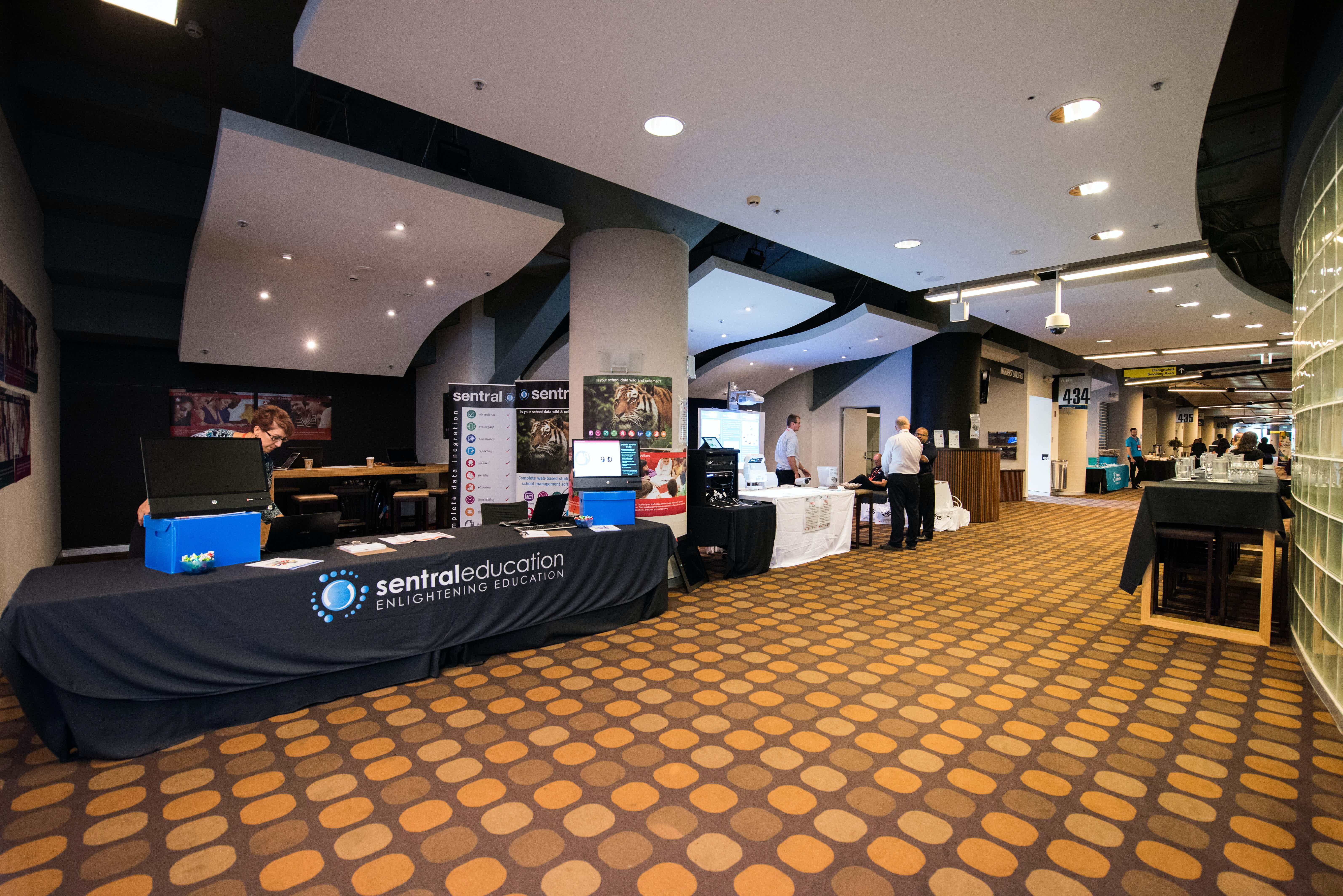 Members Lounge & Boulevard Lounge, Stadium Australia