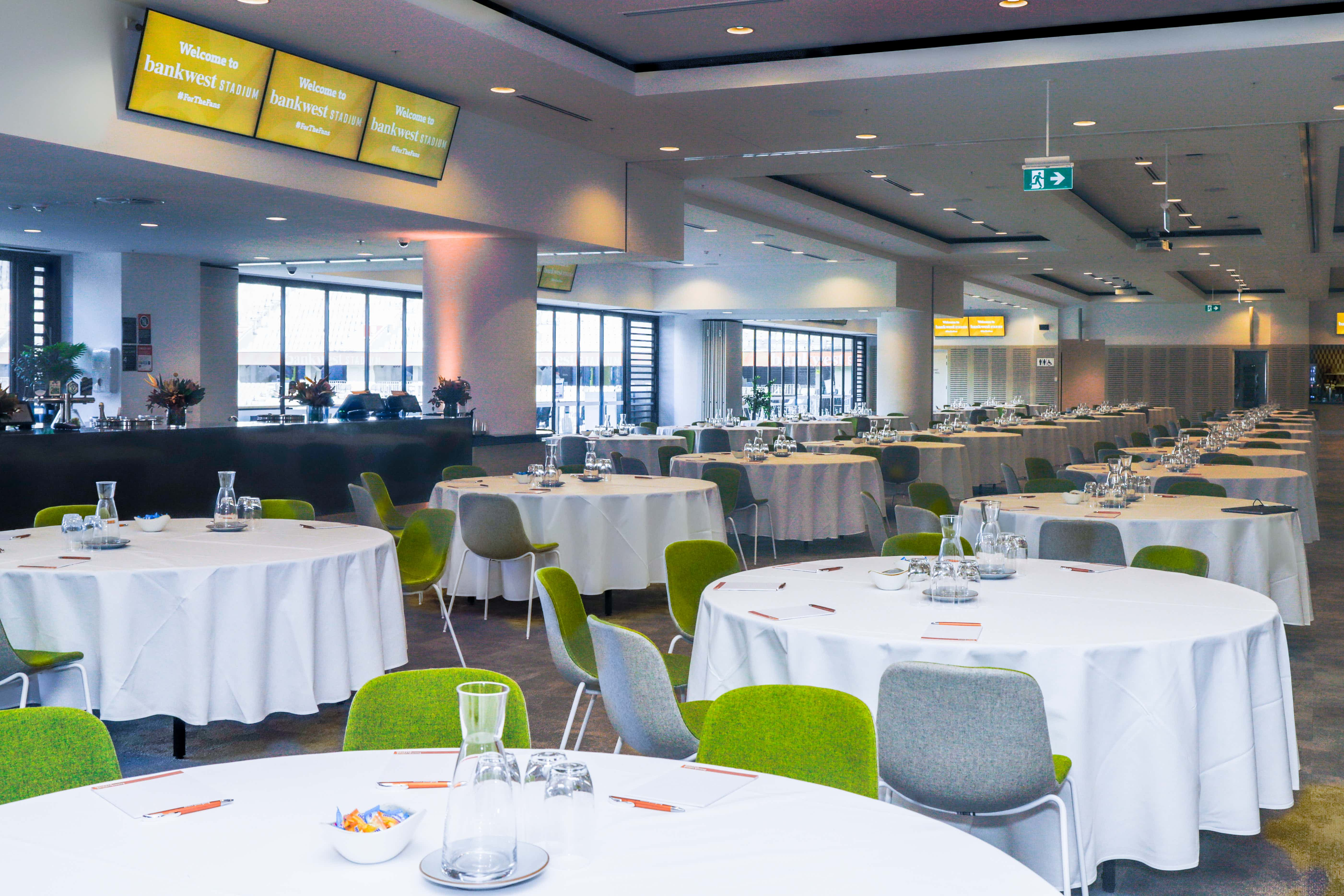 Cumberland Function Room with North and South Function Rooms , CommBank Stadium