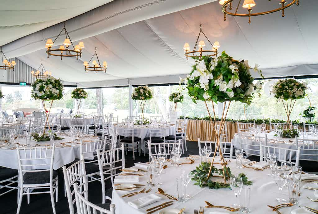 Garden Marquee, Victoria Park Weddings