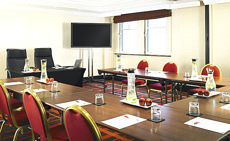 Trevelyan Suite Trevelyan is a flexible Space which divides into 3 sections - Trevelyan 1, 2 & 3 located on the mezzanine level with AC, natural daylight and a dedicated breakout area.