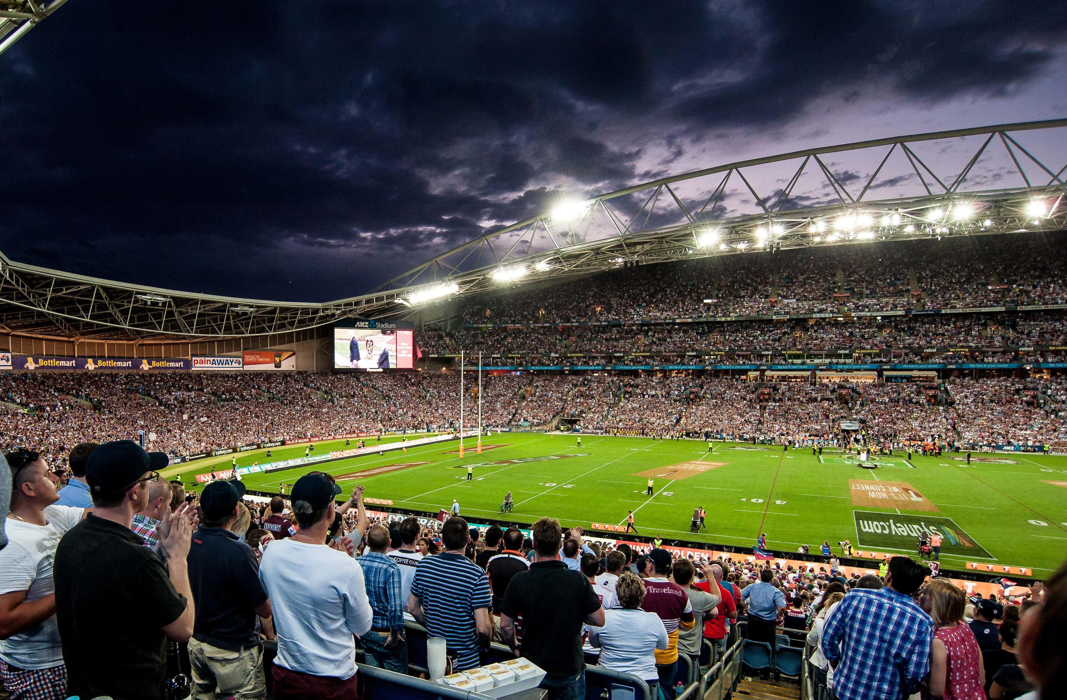 Game Day Experience - Zone Boxes, Stadium Australia