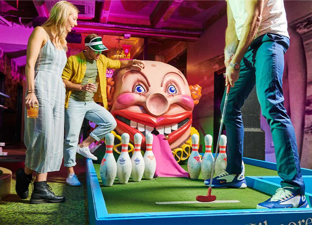 Exclusive Hire, Holey Moley Golf Club Newtown