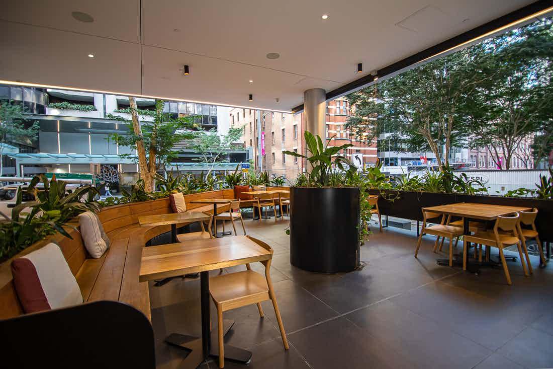 The Terrace, Motorwagen Restaurant