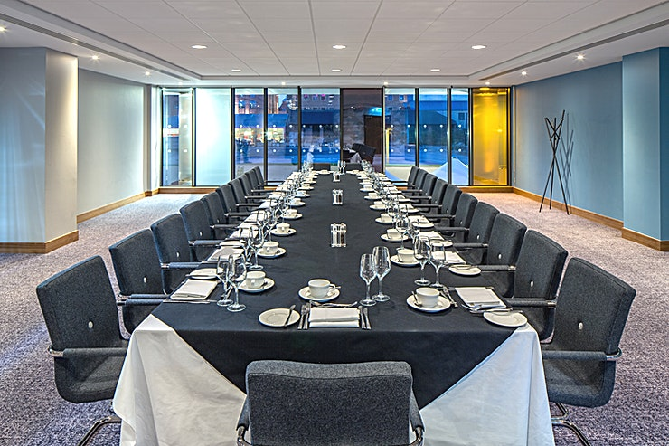 Northumbrian When it comes to meetings, Crowne Plaza Newcastle - Stephenson Quarter has put a lot of thought into how to help you. Their meetings promise is a list of standards that every Crowne Plaza Hotel must achieve to guarantee you a good meeting, from booking in to checking out.  MEETING SUCCESS At the Crowne Plaza Newcastle - Stephenson Quarter they want you to have the time to make your event a success. That means leaving them to do the hard work so you don't have to. Their conference and events team are on hand to deliver a successful event for you, from the right room layout and food and beverage choices to the right technology to make a great impression.  IHG BUSINESS REWARDS IHG Business Rewards and IHG Rewards Club are a way of saying thank you for your business. Earn IHG Rewards Club points when placing business meetings and accommodation as well as social bookings.  EAT WELL, WORK WELL When you eat well, you work well too, so at Crowne Plaza the food is not only freshly prepared, it's also nutritionally balanced to feed the mind as well as the body. The dishes have been specially developed the dishes on the meetings menu to give you the energy and nutrients you need to stay focused, creative and full of ideas.  CROWNE PLAZA MEETINGS DIRECTOR A dedicated point of contact for your entire event to handle the details so you can focus on the big picture.