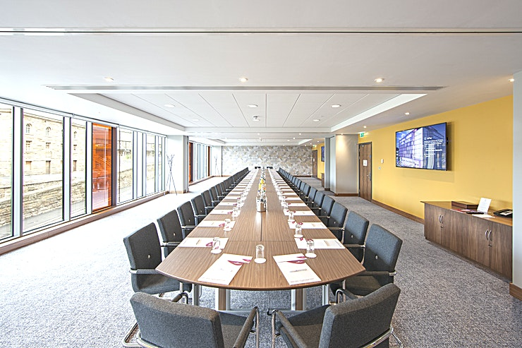 Full Locomotion When it comes to meetings, Crowne Plaza Newcastle - Stephenson Quarter has put a lot of thought into how to help you. Their meetings promise is a list of standards that every Crowne Plaza Hotel must achieve to guarantee you a good meeting, from booking in to checking out.  MEETING SUCCESS At the Crowne Plaza Newcastle - Stephenson Quarter they want you to have the time to make your event a success. That means leaving them to do the hard work so you don't have to. Their conference and events team are on hand to deliver a successful event for you, from the right room layout and food and beverage choices to the right technology to make a great impression.  IHG BUSINESS REWARDS IHG Business Rewards and IHG Rewards Club are a way of saying thank you for your business. Earn IHG Rewards Club points when placing business meetings and accommodation as well as social bookings.  EAT WELL, WORK WELL When you eat well, you work well too, so at Crowne Plaza the food is not only freshly prepared, it's also nutritionally balanced to feed the mind as well as the body. The dishes have been specially developed the dishes on the meetings menu to give you the energy and nutrients you need to stay focused, creative and full of ideas.  CROWNE PLAZA MEETINGS DIRECTOR A dedicated point of contact for your entire event to handle the details so you can focus on the big picture.