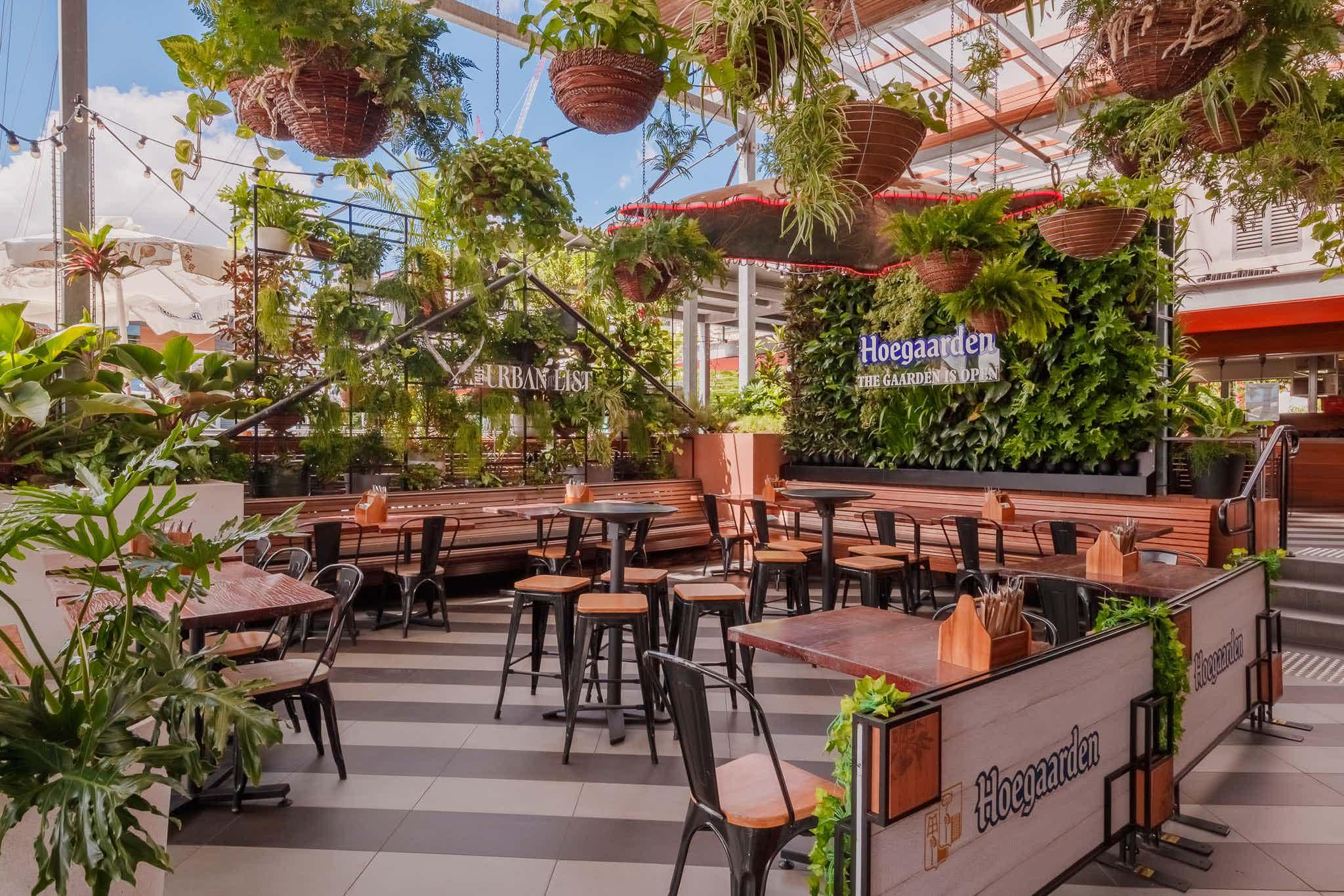 Hoegaarden, Southbank Beer Garden
