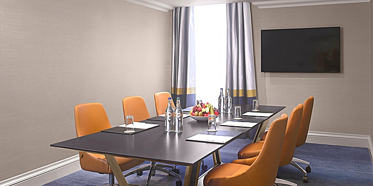 Rose Suite  As a beautiful hotel in the heart of the historic city of Edinburgh, your celebrations and business meetings are expertly handled at InterContinental Edinburgh The George. Just minutes from Waverley S