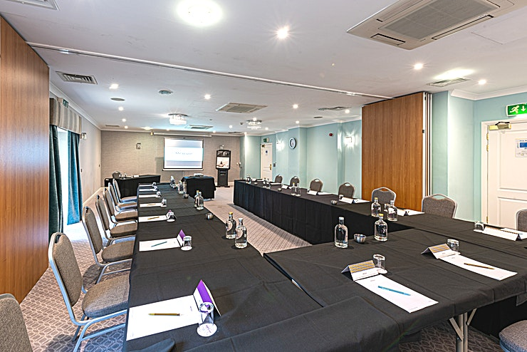 Springhill Suite  Our Springhill Suite is perfect for conferences and meetings. We have a number of packages in order to making planning a conference much easier! Our packages include, lunch, refreshments, stationary,