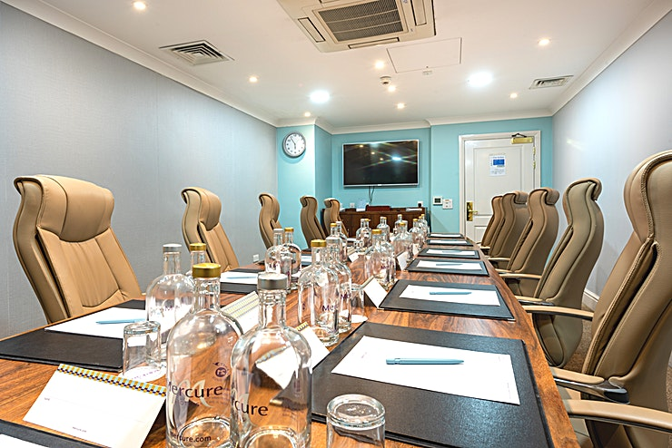 Boardroom  Here at the Norton Grange, we have 3 boardrooms to offer for small conferences or meetings! With free Wi-Fi, free use of car park, stationary, LCD screens, and many more, we can help you plan the perf