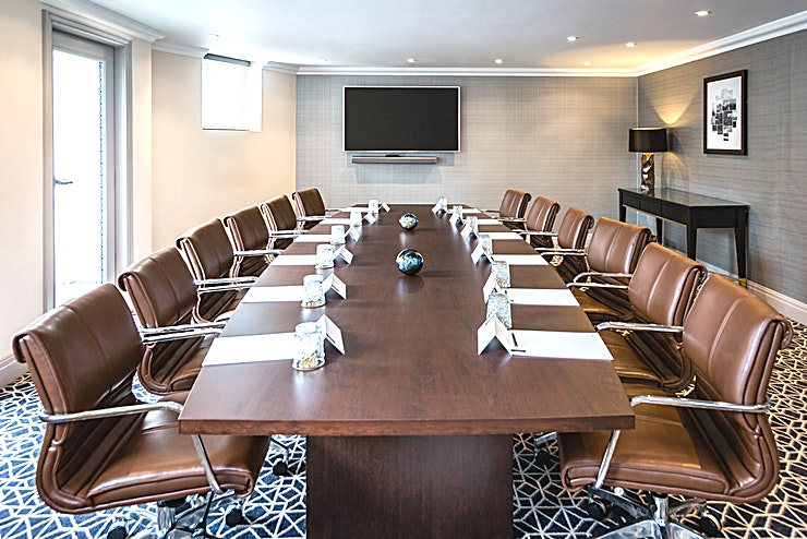 Boardroom Our spacious boardrooms are ideal for a range of private events and those all-important meetings.