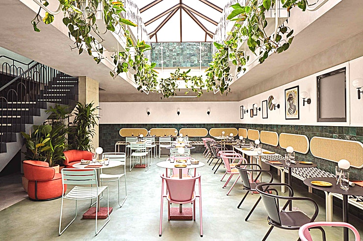 Restaurant space Tank-fresh craft beer, sustainable urban gin distilling and gourmet kebabs all under one roof in Dalston's latest Brewpub, bar & restaurant
