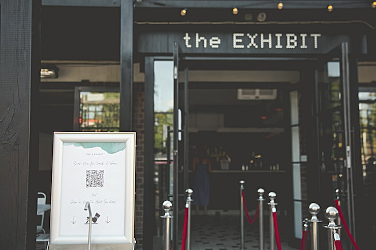 Full Venue You can hire out The Exhibit in its entirety for parties of up to 600 people.  Exclusive hire gets you the run of the venue and the opportunity to fully personalise your event experience.  - Prices ar