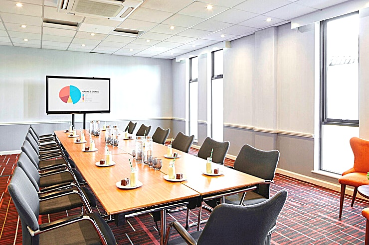 Beech Room Whether you're visiting Essex on business or a relaxing weekend break, you will be thrilled with the stylish accommodation, thoughtful amenities and flexible event spaces at Waltham Abbey Marriott Hot