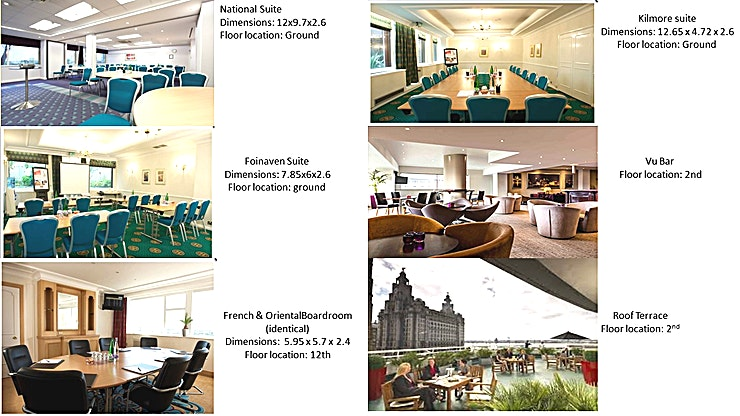 Royal suite Located on the second floor, the Royal Suite benefits from natural daylight and air conditioning. Suitable for a range of meeting styles for up to 60 delegates Internet Connection | Natural Daylight |