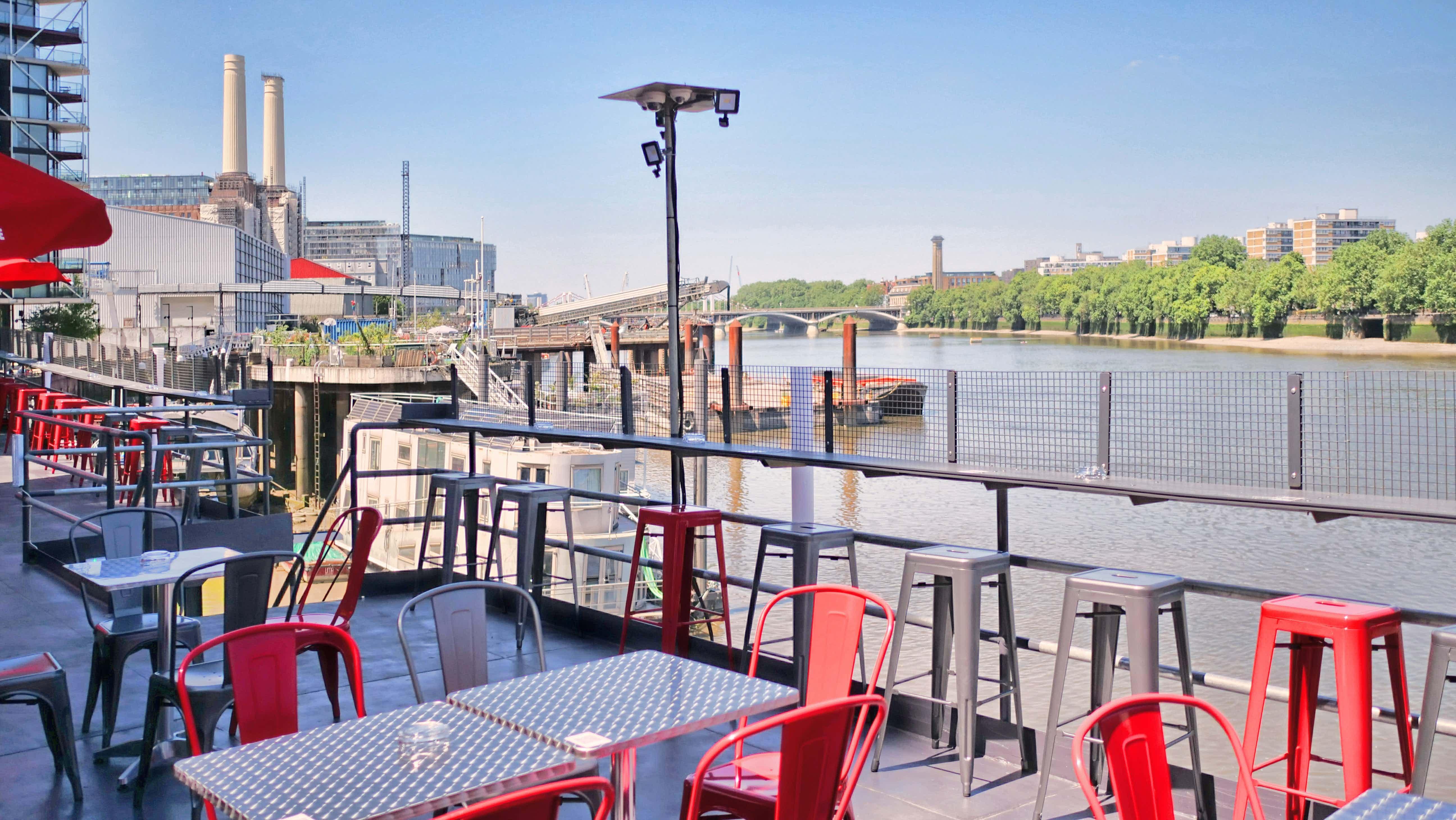 Whole Venue, Battersea Barge