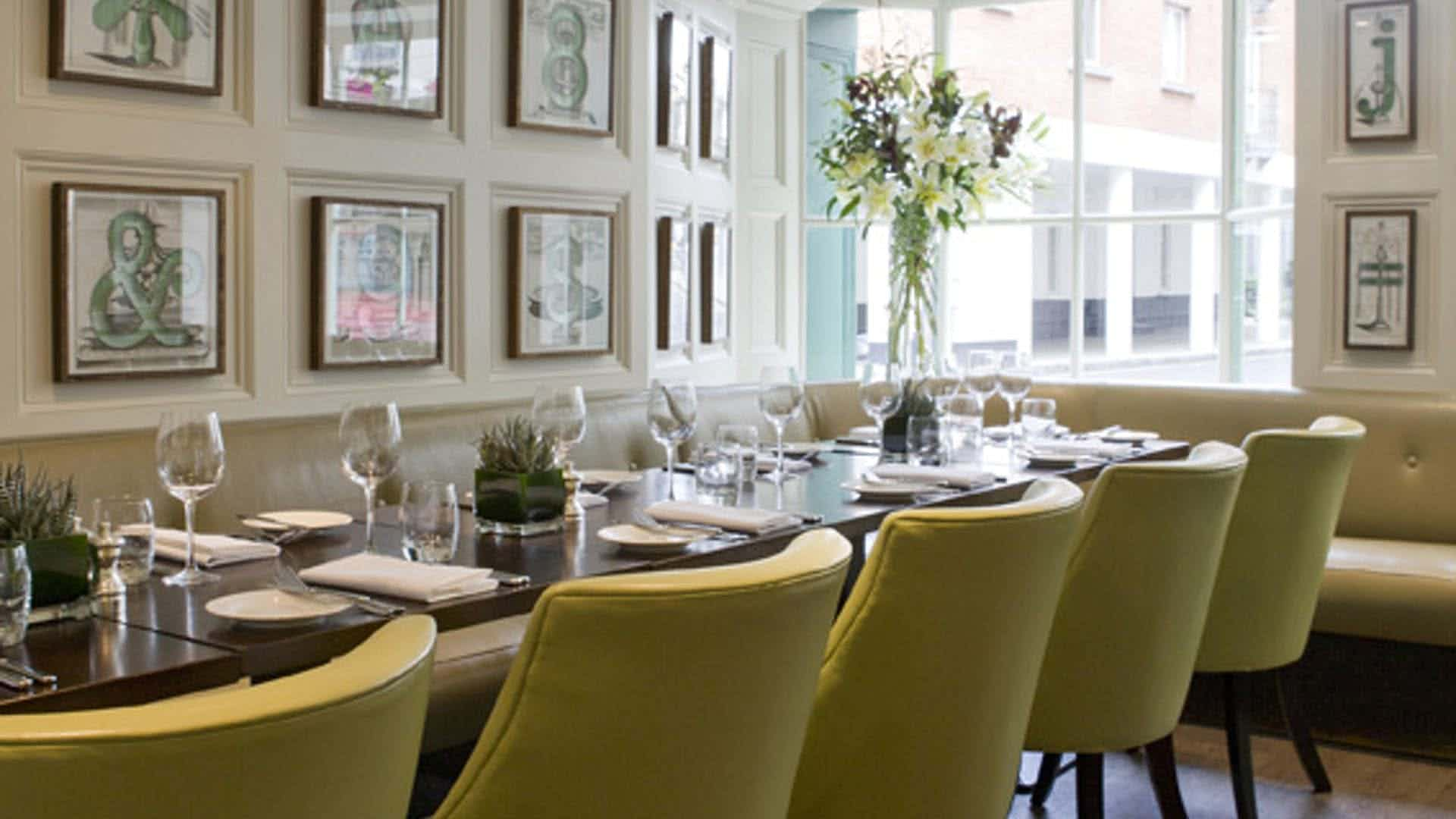 The Snug, Chiswell Street Dining Rooms