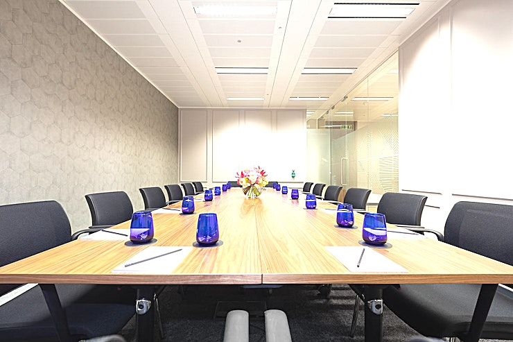 Millennium  Looking for meeting room hire in London? Look no further!  The Landmark offices offer some of the best options for meeting room hire London has to offer. Their Business Centre in Canon Street is no exception! Hire the Millennium Room for a creative meeting room to hire in central London for up to 16 delegates.   Located above Cannon Street tube station, this meeting room centre offers flexible office space on the fourth floor of a statement building.