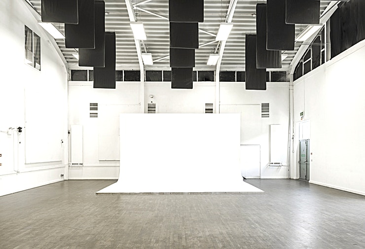 Cre8 Studio studio 4 4 Film + Photography and Event Studios available for hire. Located in Hackney Wick, East London. The studios also includes car park space, seated client area, cafè and catering available.  Studio Fo