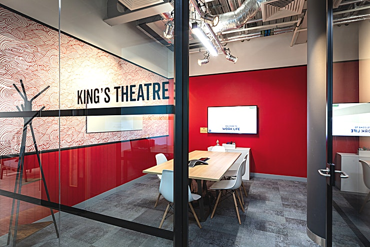 The King's Theatre **Welcome to The King's Theatre at Work.Life Hammersmith - the perfect place to host a corporate event! One of the best options for meeting room hire London has to offer.**   You can take centre stage