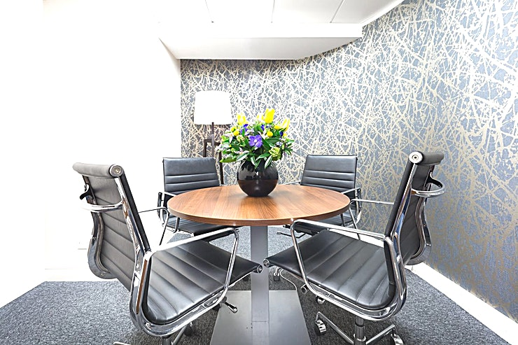 Christies **Want one of the best West London meeting rooms in the city? Welcome to the Landmark's St James's Square centre.**   Want a prestige location? Look no further. This meeting room is particularly fine