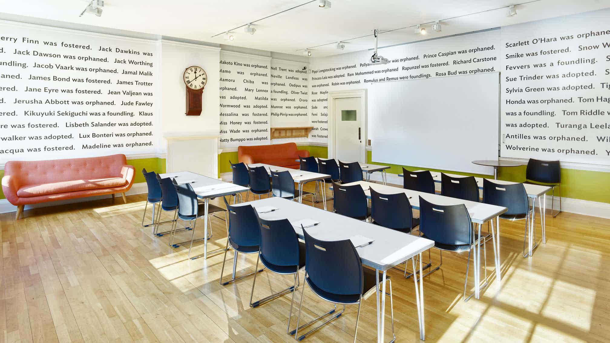 Study Studio, The Foundling Museum