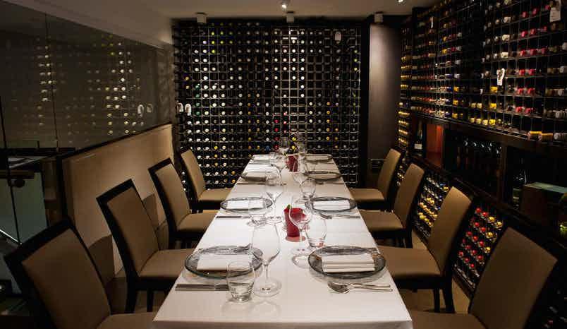 Lunch Sitting, Wine Room, Benares Restaurant & Bar